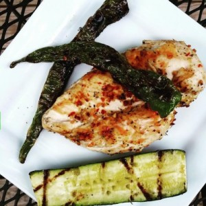 brined grilled chicken